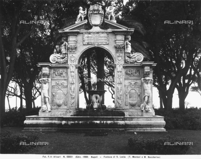 Fountain of Santa Lucia, Villa Comunale, Naples