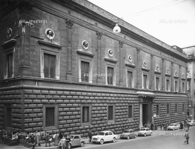Palazzo Gravina, Via Monteoliveto, Naples