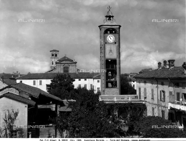 Clock-tower, Castellazzo Bormida
