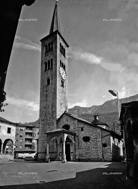 Collegiate Church of St. Ambrose, Omegna, Verbania.