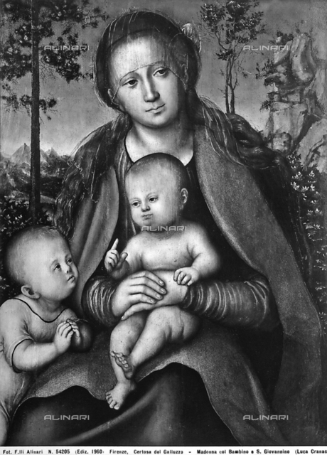 Madonna with Child and Young St. John, Carthusian Monastery of Galluzzo.