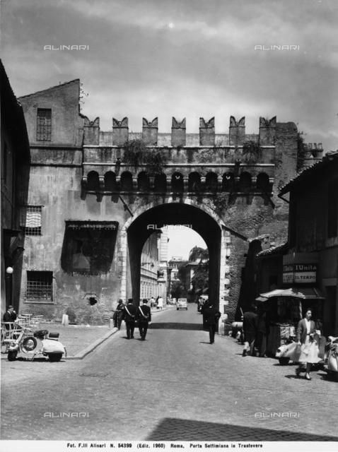 Porta Settimiana, Rome