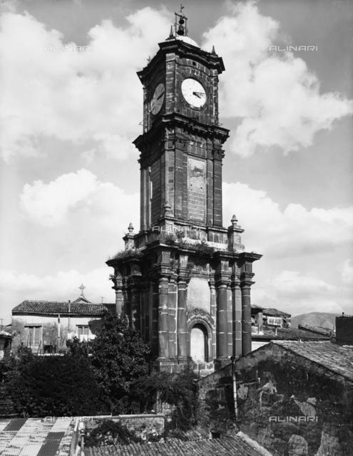 The clock tower, Avellino