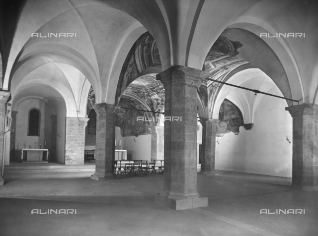 Lower Church, Basilica of San Francesco, Arezzo