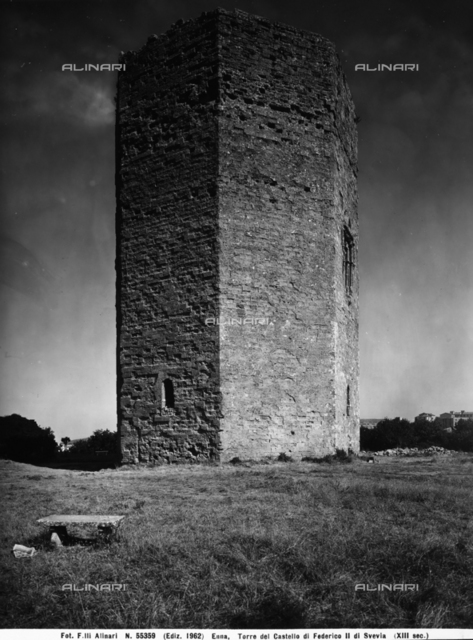 Tower of Frederick II, Enna