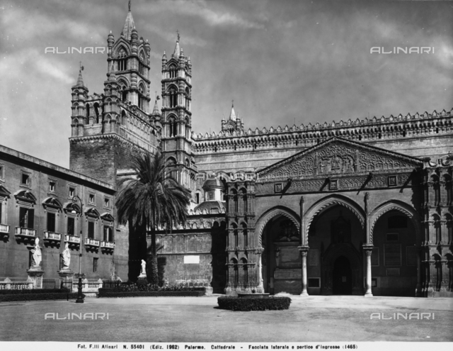 Portico, Cathedral, Palermo