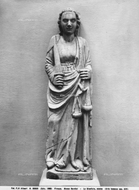 Allegory of Justice, Museo Bardini, Florence