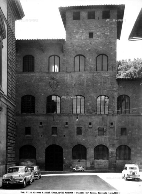 Faà§ade of the Palazzo de'Mozzi, in the Piazza de'Mozzi, Florence