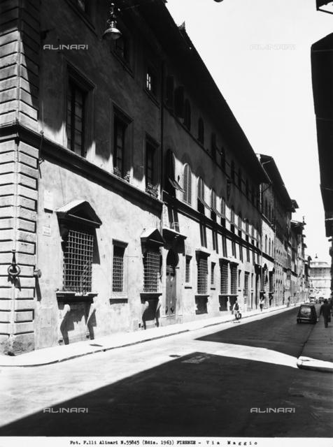 The Via Maggio, in Florence