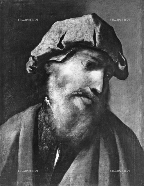 Portrait of a commoner, by Pietro della Vecchia