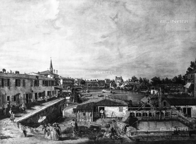 View of Venice, Bernardo Bellotto