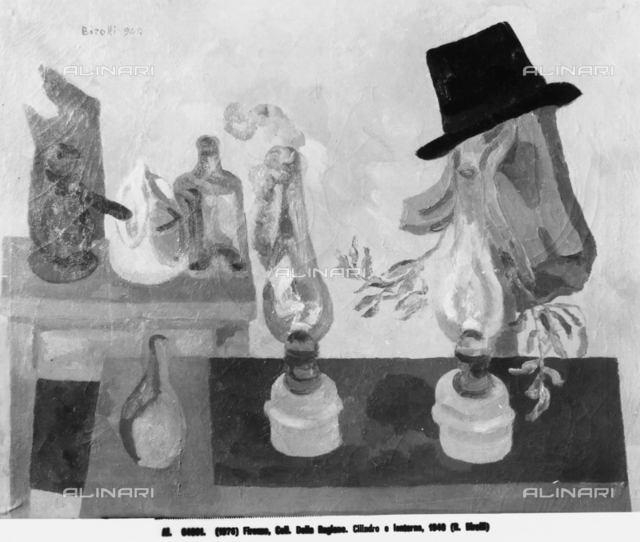 Top Hat and Lantern, Alberto della Ragione Collection, Florence
