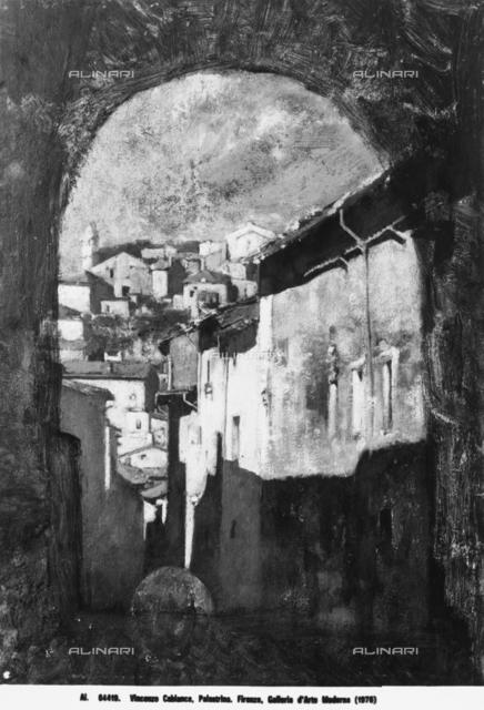 View of Palestrina, Galleria d'Arte Moderna, Florence