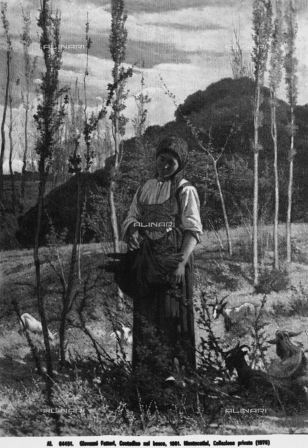 Peasant Woman in the Woods, private collection, Montecatini