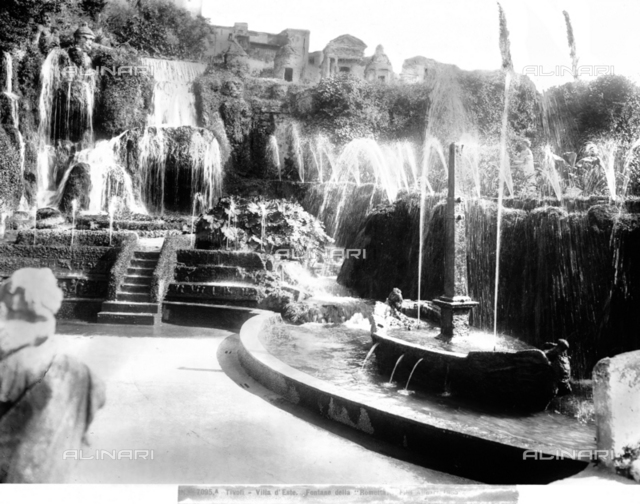 Rometta Fountain, Villa d'Este, Tivoli