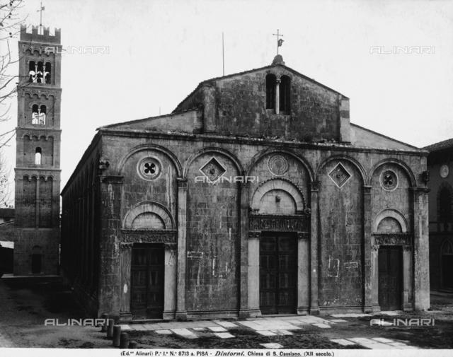 Church of St Cassiano di Controni, St Cassiano, Lucca