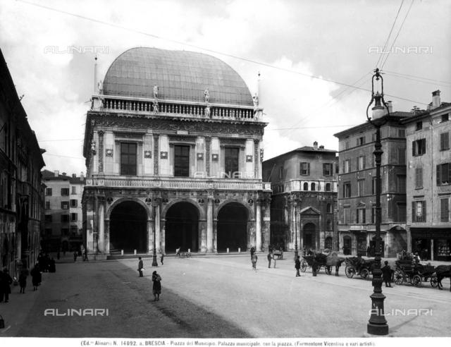 Palazzo del Municipio or Palazzo della Loggia, Piazza della Loggia, Brescia