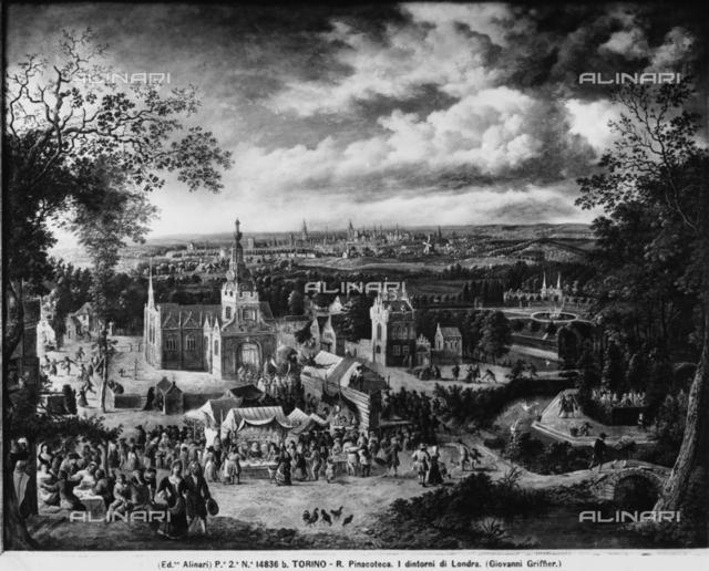 Environs of London, Sabauda Gallery, Turin