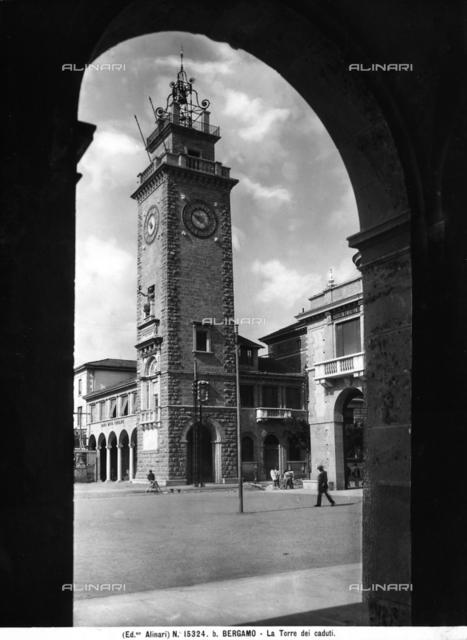 """Torre dei Caduti"" (Tower of the Fallen- War Memorial), Bergamo"