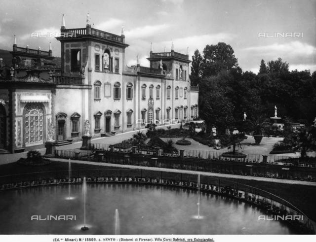 Villa Guicciardini (formerly Villa Corsi-Salviati), Sesto Fiorentino