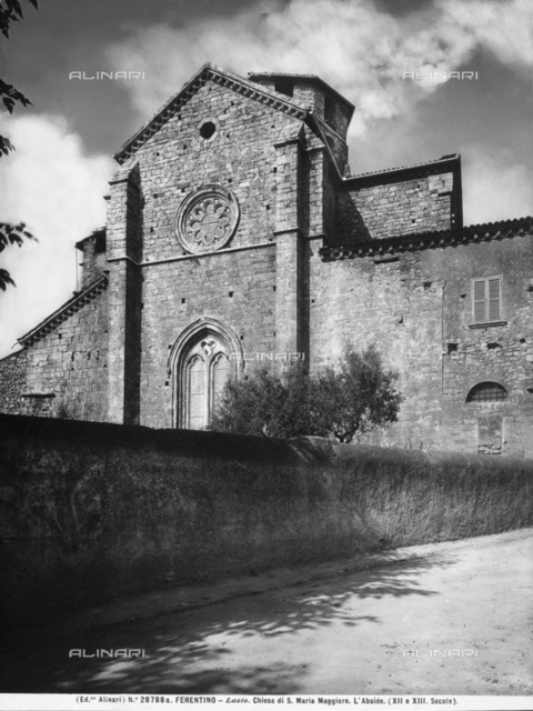 Church of Santa Maria Maggiore, Ferentino.