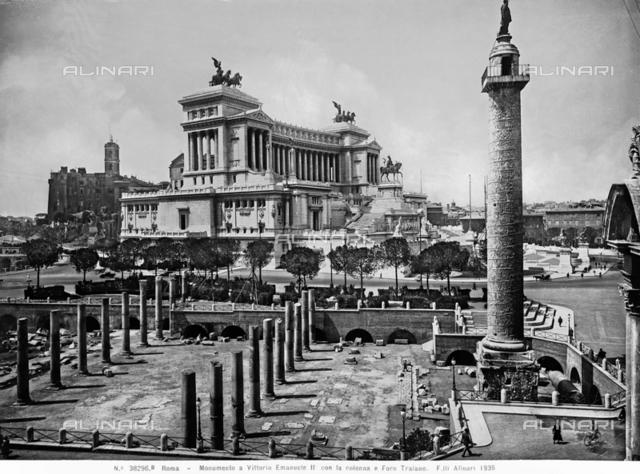 Trajan's Column, The Forum of Trajan, Rome