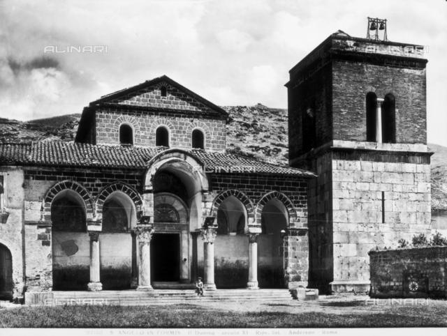Basilica of Sant'Angelo in Formis, Capua, Italy