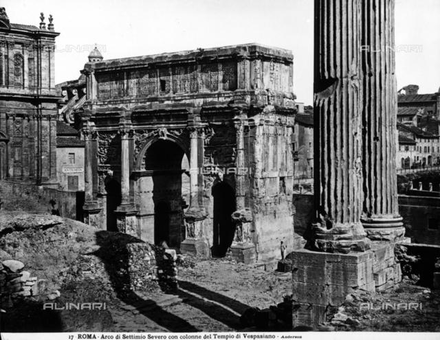 Arch of Septimius Severus, Roman Forum, Rome