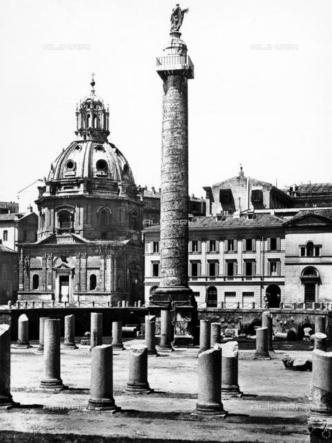Trajan's Column, The Forum of Trajan, Rome