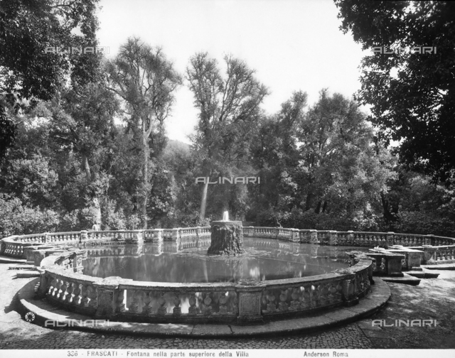 Fountain, park of Villa Torlonia, Frascati
