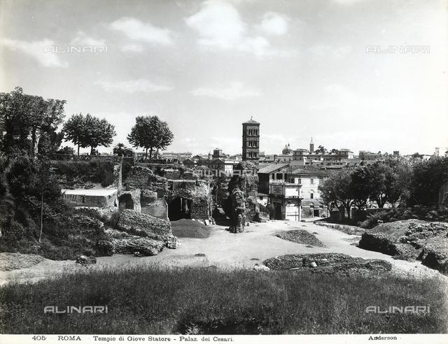Temple of Divus Romulus, Roman Forum, Rome