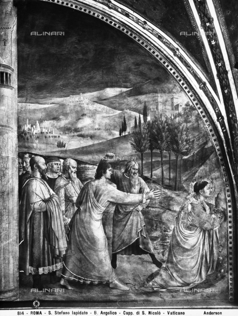 The martyrdom of Saint Stephan, Vatican Museums, Vatican City