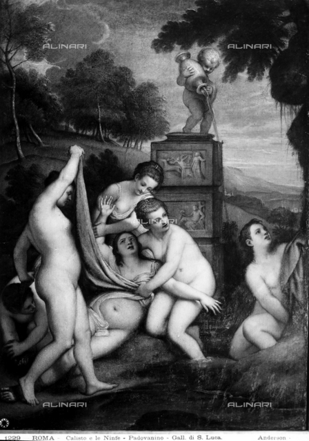 Callisto and the Nymphs, Gallery of the Accademia di San Luca, Rome