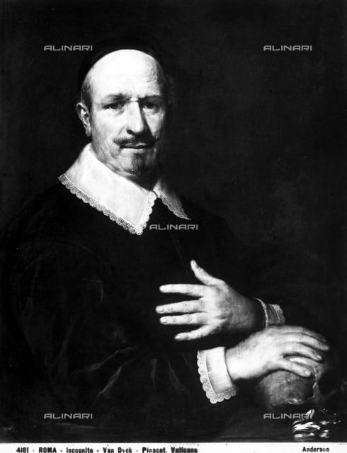 Anonymous portrait, Vatican Portrait Gallery, Vatican Museums, Vatican City