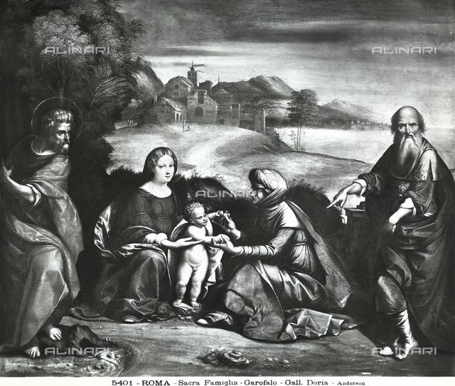 Sacred Family with Gioacchino and St. Anna, Doria Pamphilj Gallery, Rome