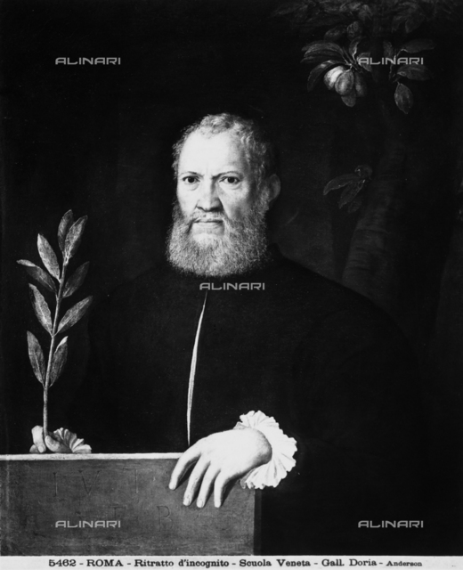 Portrait of unknown man, Doria Pamphilj Gallery, Rome