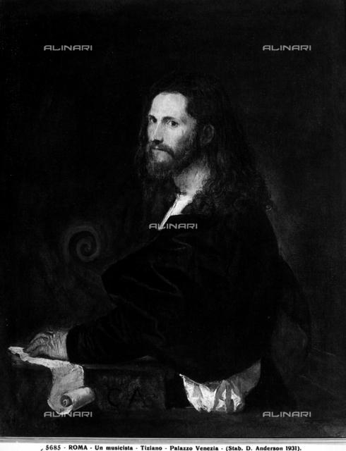 Portrait of a musician, Spada Gallery, Palazzo Spada, Rome
