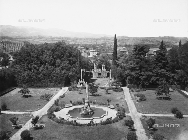 Garden at the Villa Redenta in Spoleto