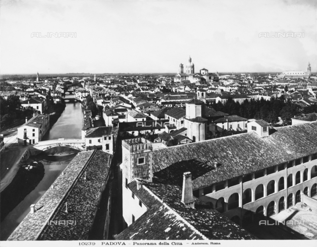 View of the city of Padua