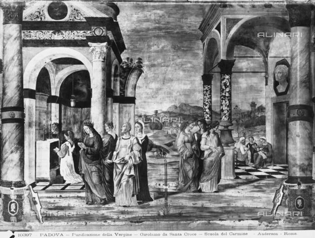 Presentation of the Virgin in the Temple, Scuola del Carmine, Padua.