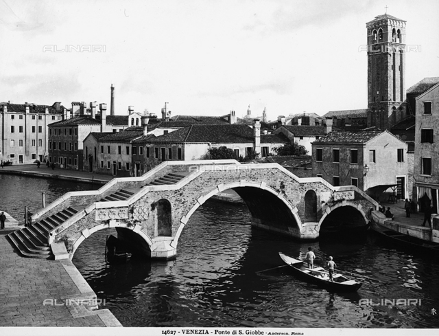 Animated view of the Bridge S. Giobbe, Venice