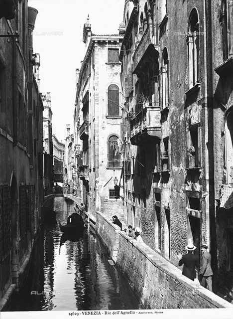 Animated view of Rio dell'Agnello, Venice