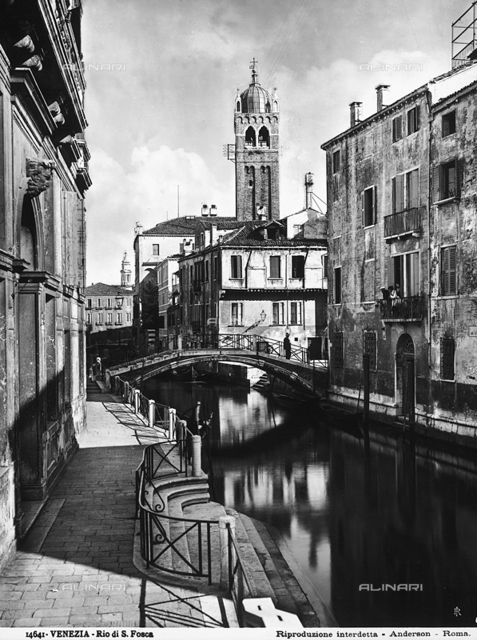 View of Rio S. Fosca, Venice