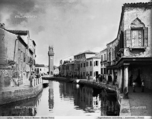 Rio dei Vetrai (Glaziers' canal), Murano Island