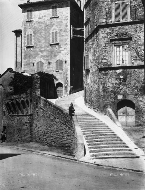 Via del Poggio in Perugia