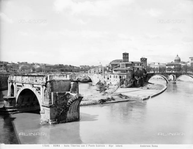 Pons Aemilius or Ponte Rotto, Rome