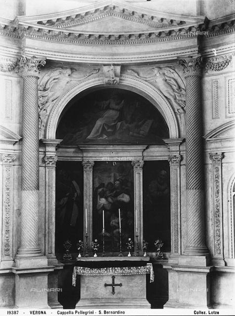 Altar of the Pellegrini Chapel, Church of St. Bernardino in Verona