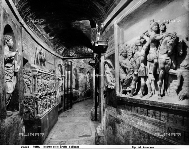 New Grottoes, Sacred Grottoes of the Vatican, Vatican City.
