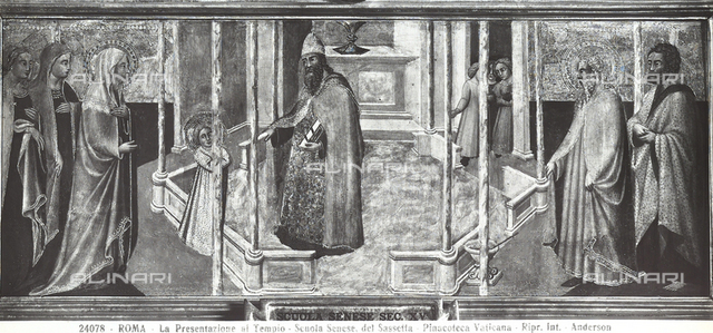Presentation to the Temple, Vatican Picture Gallery, Vatican City