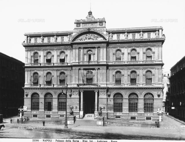 Palazzo della Borsa (stock exchange building), Naples